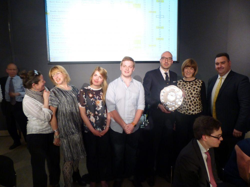 Association Quiz Night 2014 – Winners